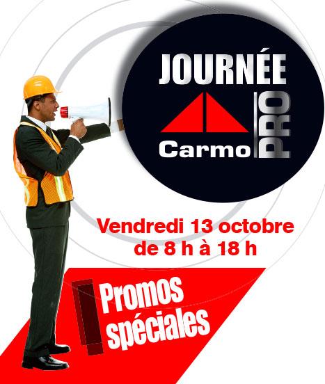 Journée Carmo PRO le 13 octobre 2017