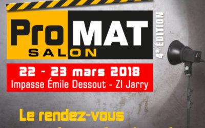 ProMAT les 22 et 23 mars 2018