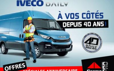 Offres spéciales Anniversaire Iveco