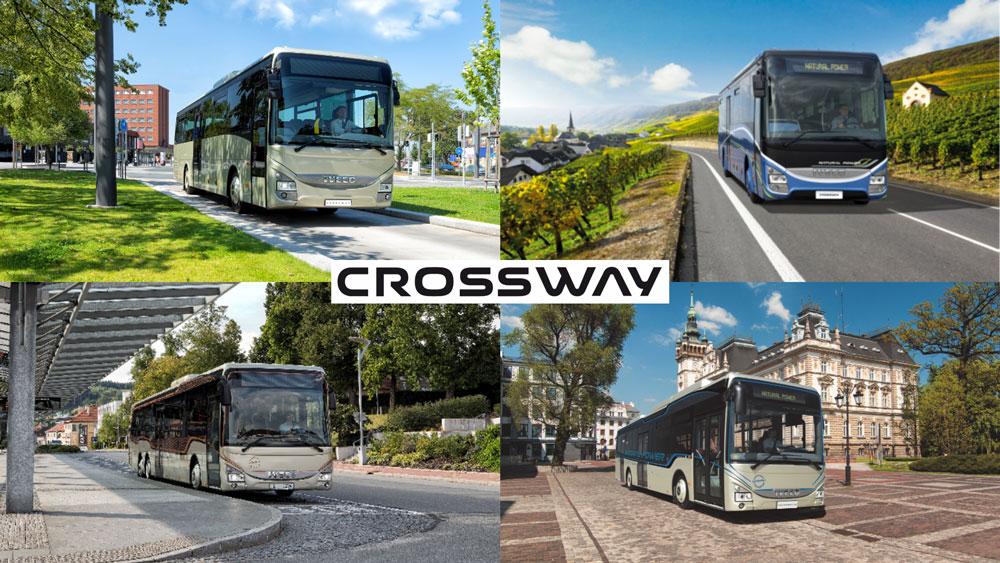 Et de 44 444 Crossway pour IVECO BUS !